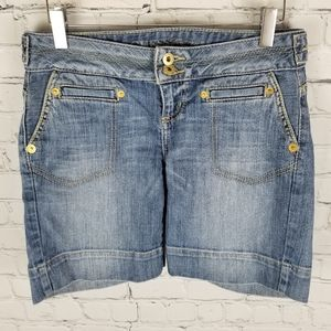 GUESS | cuffed flap pocket shorts
